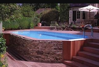 Sitting Retaining Wall Around Pool Diy