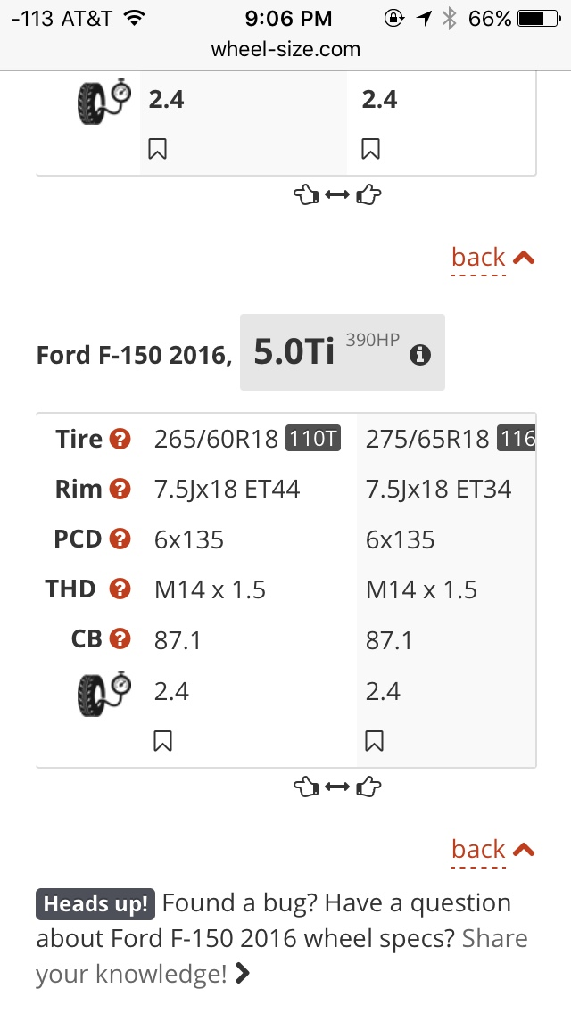 2016 F150 Changing tire size & reprograming computer - Ford F150 Forum