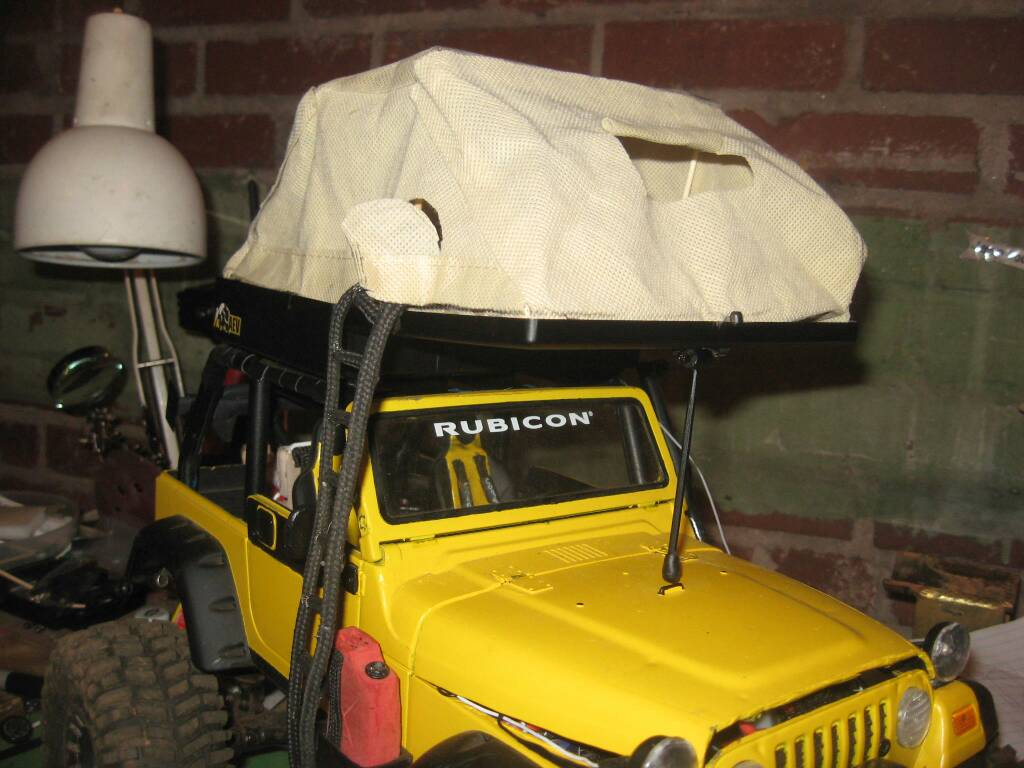 1 10 Scale Camping Tents Homemade Rccrawler