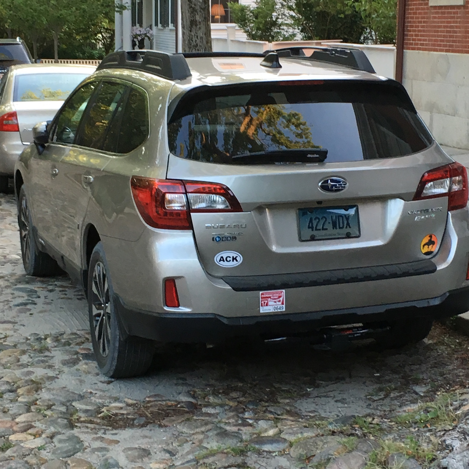 Any special decals on your Outback Page 5 Subaru