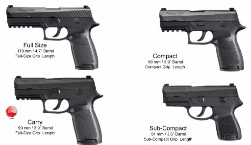 New to P320 Carry - Frame & Magazine questions - SIG Talk