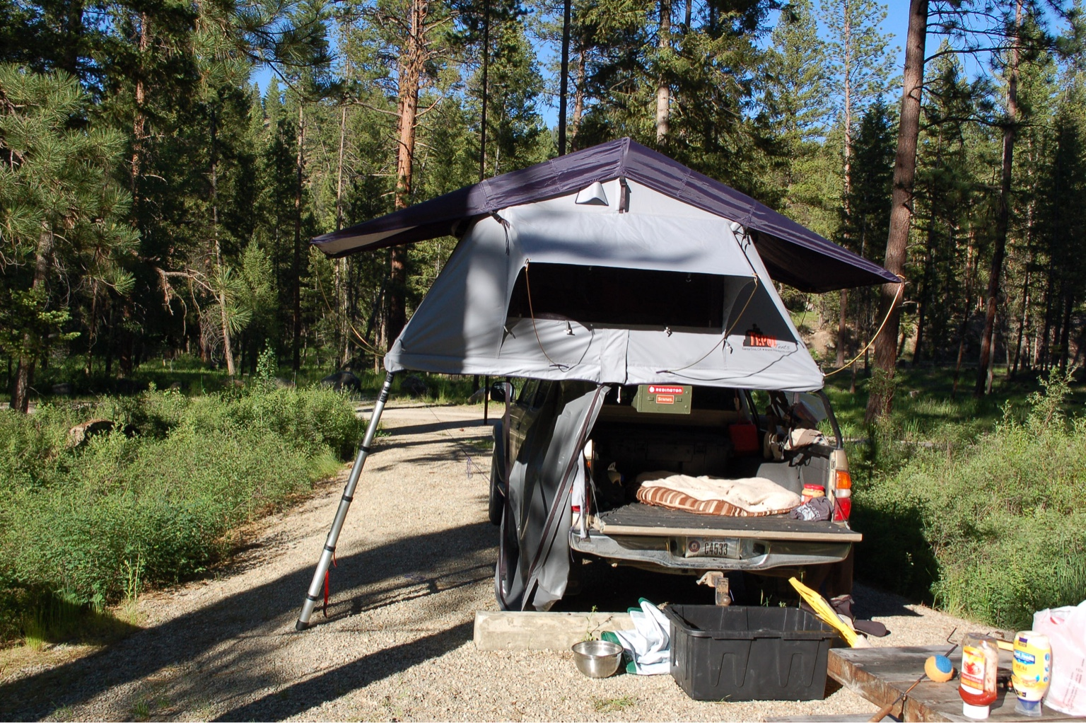 Annex MaterialAnnex Sold separately. Annex AreaAnnex Sold separately. Travel Cover Material1000g Heavy Duty PVC Weight (w/ annex)130 lbs & For sale: Hamilton MT. Tepui roof top tent - Expedition Portal