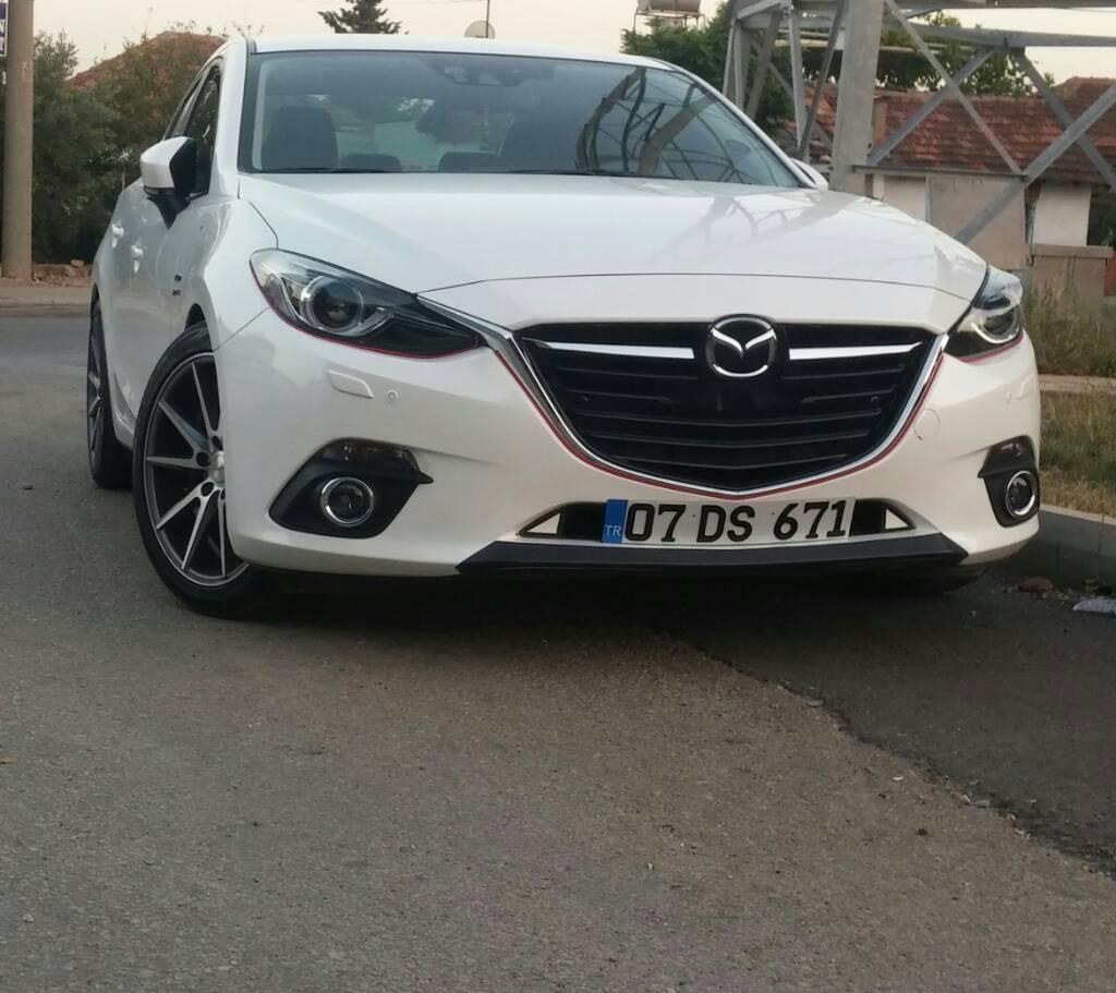 Mazda 3 Bm Bn 2014 2019: Mazda 3 BM Skyactiv - Ön Plakalık Önerisi