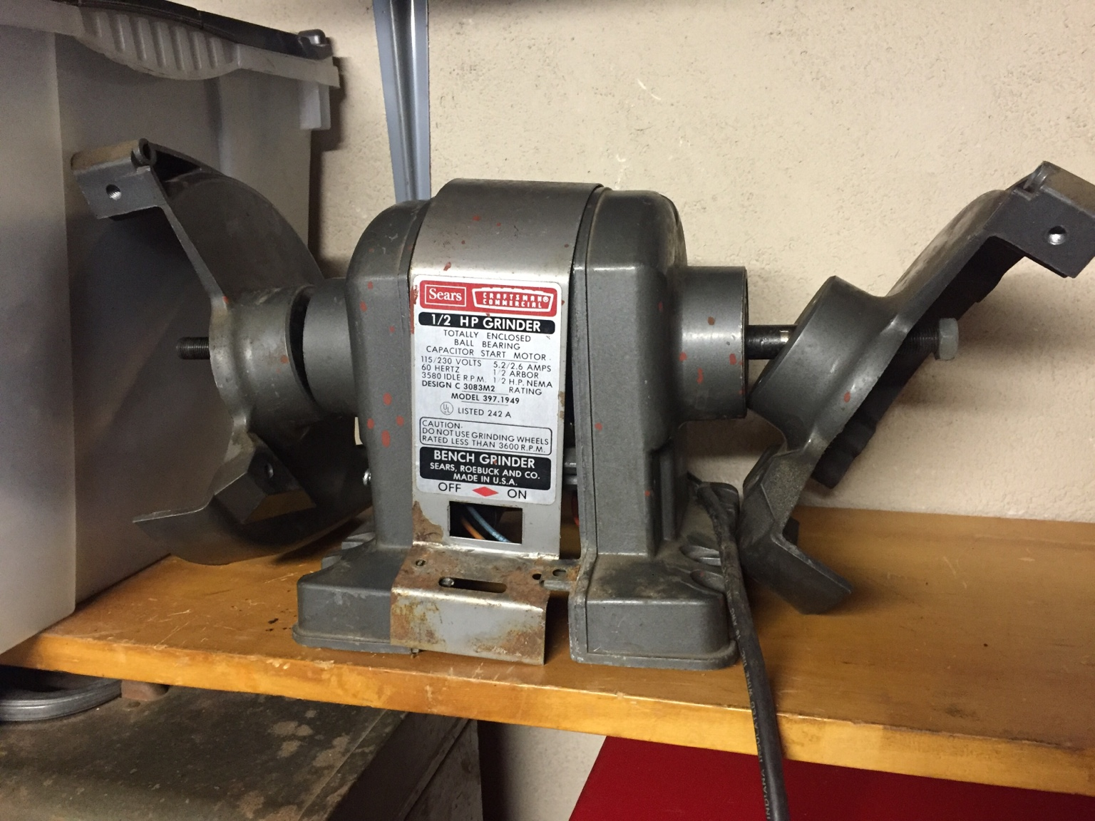 Wissota Bench Grinder Wiring Diagram Free Download Lets See Your Craftsman Block Grinders Archive Page 36 The