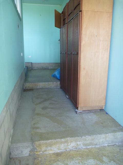 Raising Floor Level Tiered Concrete Slabs