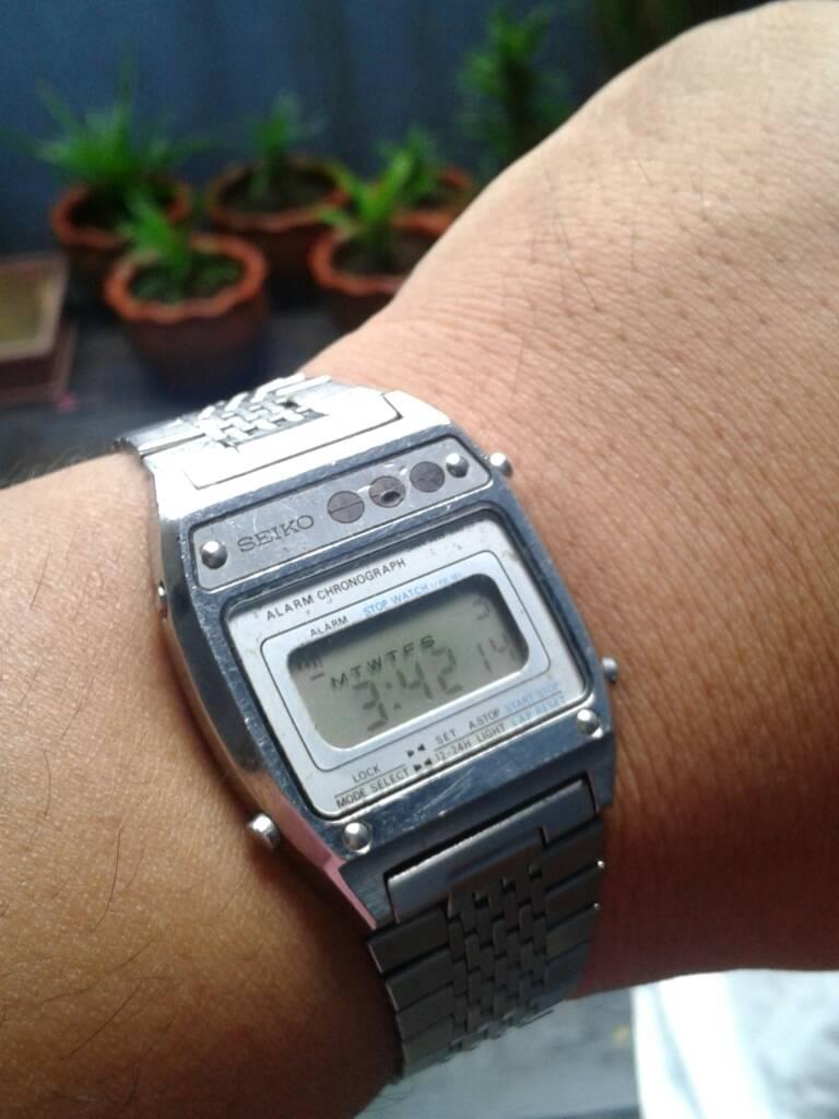 sold fs vintage 70 s seiko alarm chronograph digital