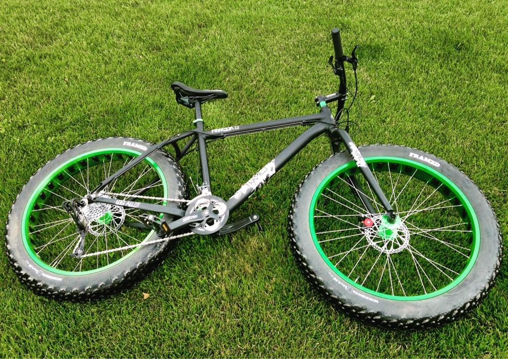 Bow Mount For Framed Minnesota 2 0 Fat Bike