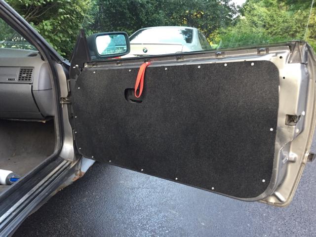 E36 door panel final solution for 1993 bmw 325is interior door panel