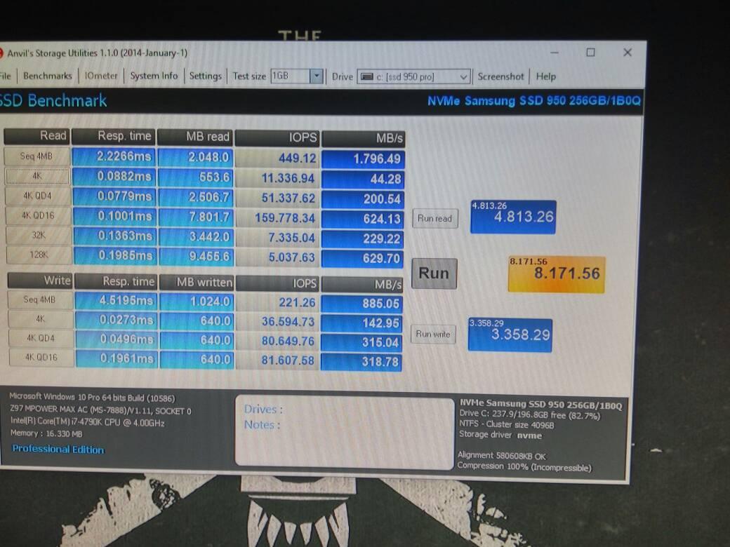 Ranking informativo de velocidad escritura/lectura HDDs, SSDs