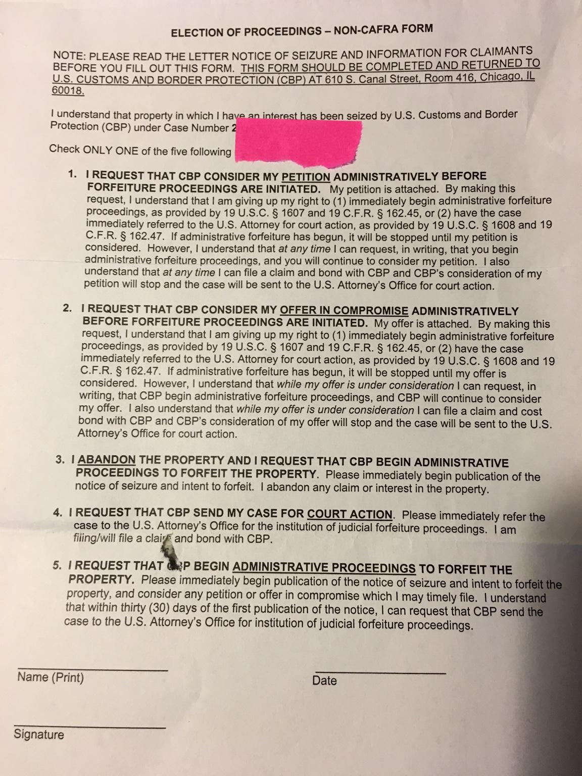 US: TD seizure rate - Replica Watch Info