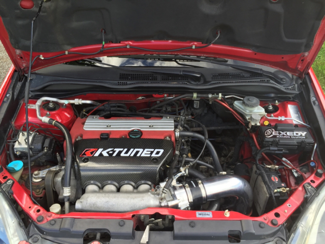 Dyno results -testing alot of K-TUNED parts on a k20a2