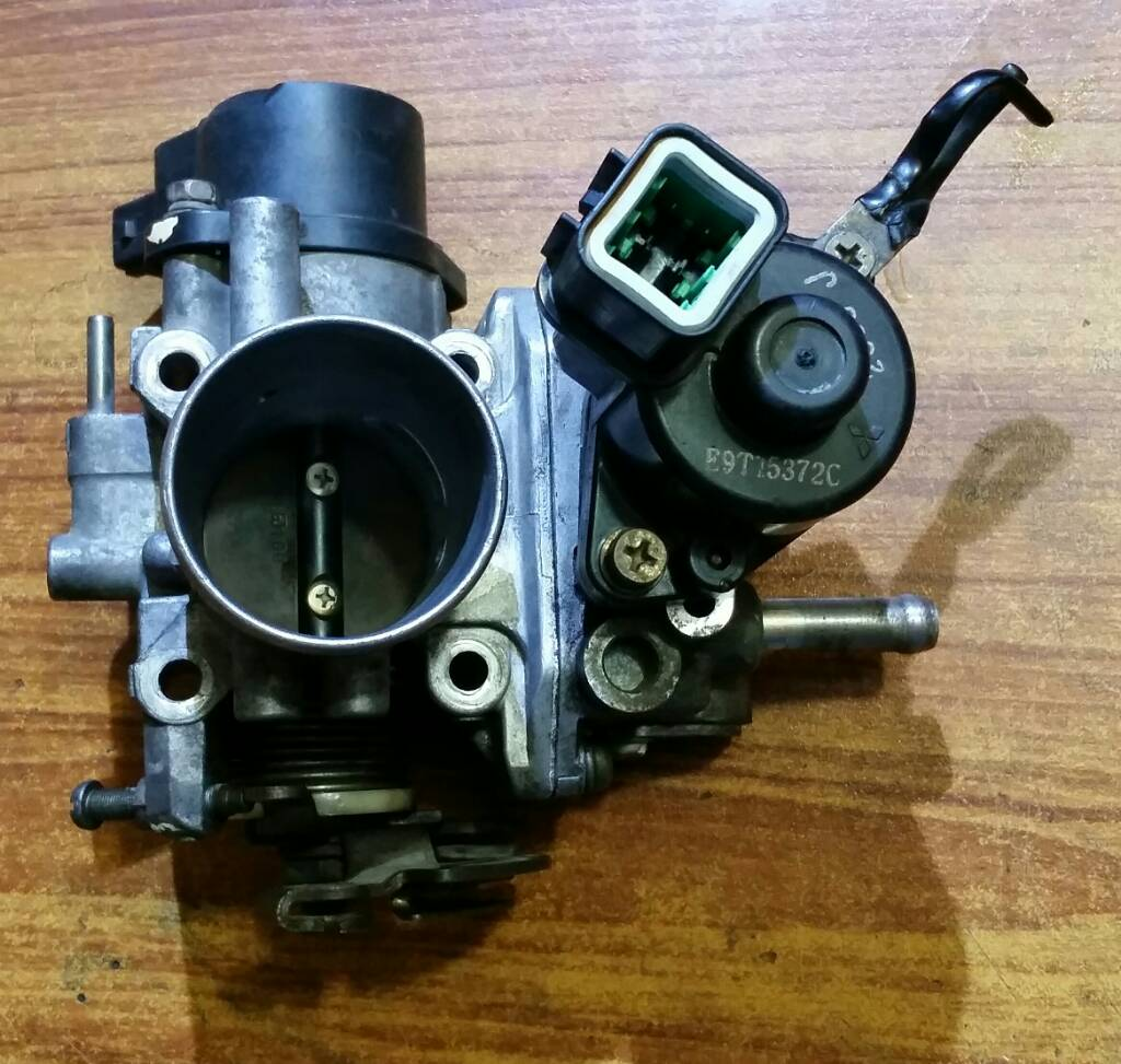 Pajero Mini 1995 My First 4x4 Pakwheels Forums Mitsubishi Clutch Wiring Diagram This Throttle Body Have Different Isc Motor Design Which Is Better Than Previous One The Easily Removable As With Old Only Coils Of