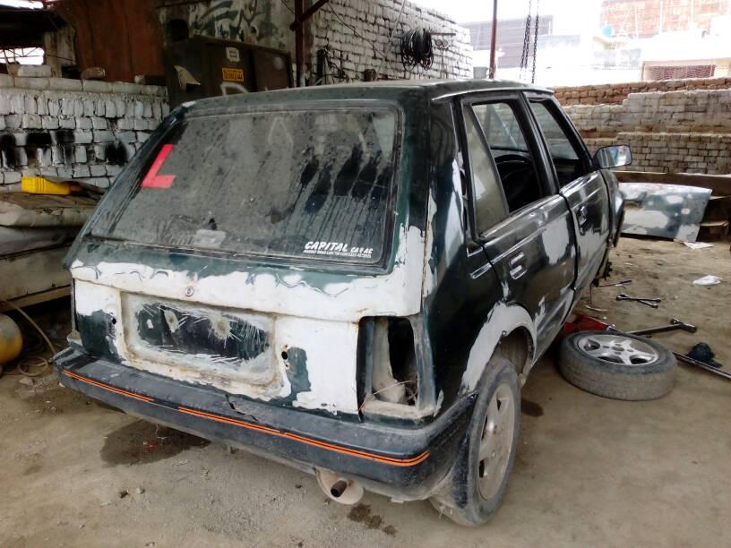 Restoration Of Daihatsu Charade G11 1986