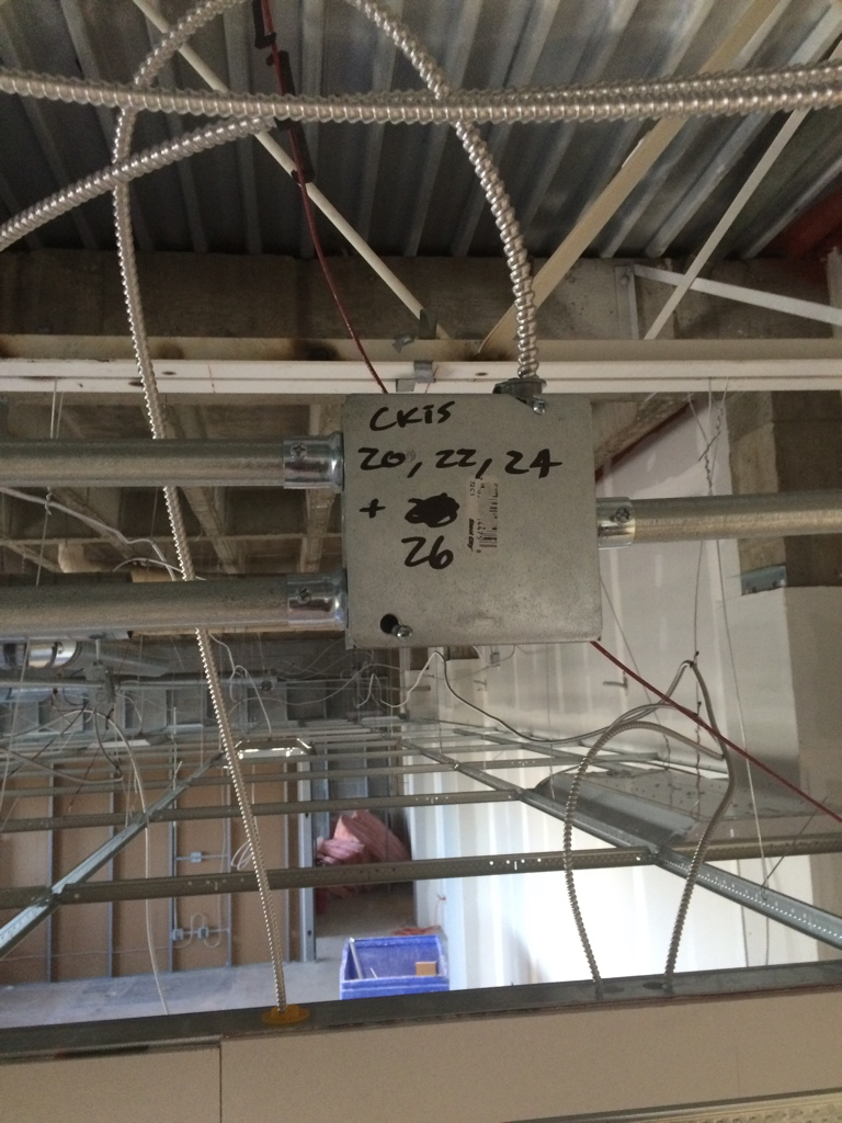 Commercial Rough in - Electrician Talk - Professional Electrical ...