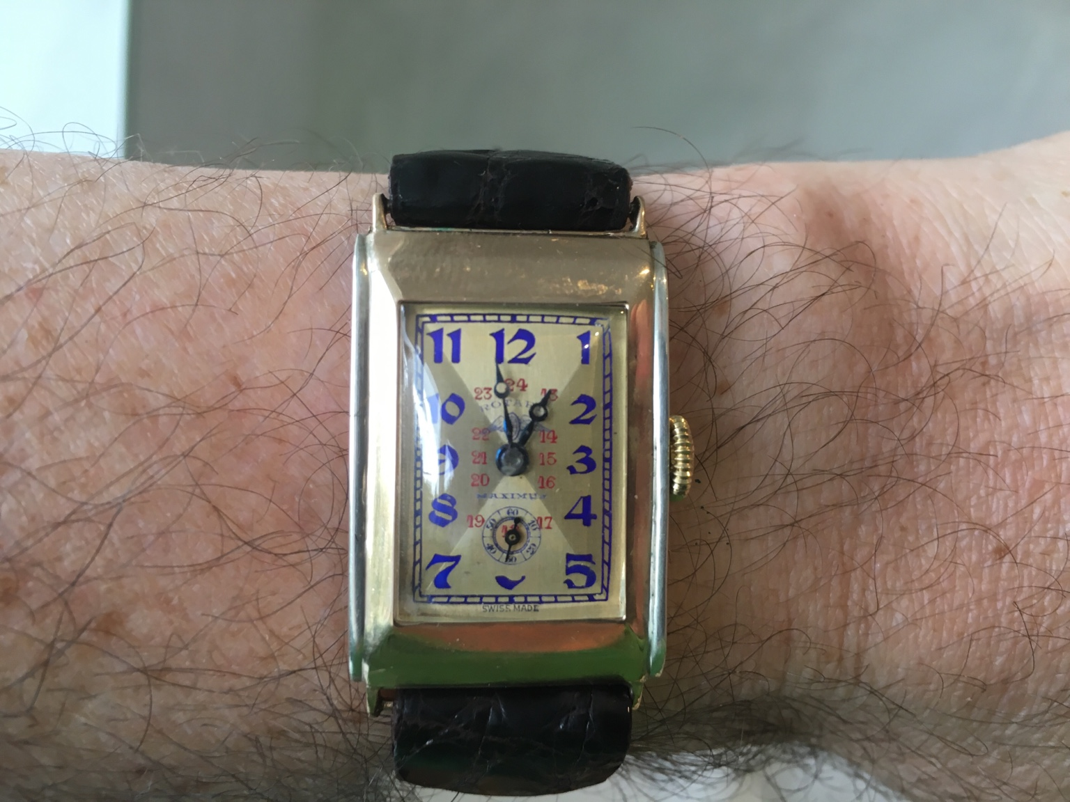 vintage watch maxima