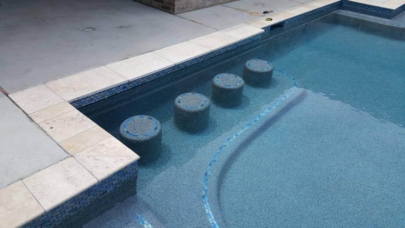 Wet dry sandpaper for pool