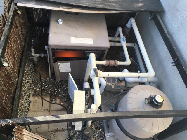 Hayward Heater Leaking