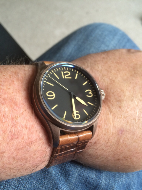 Review of the geckota k1 v29 pilot watch for Geckota watches