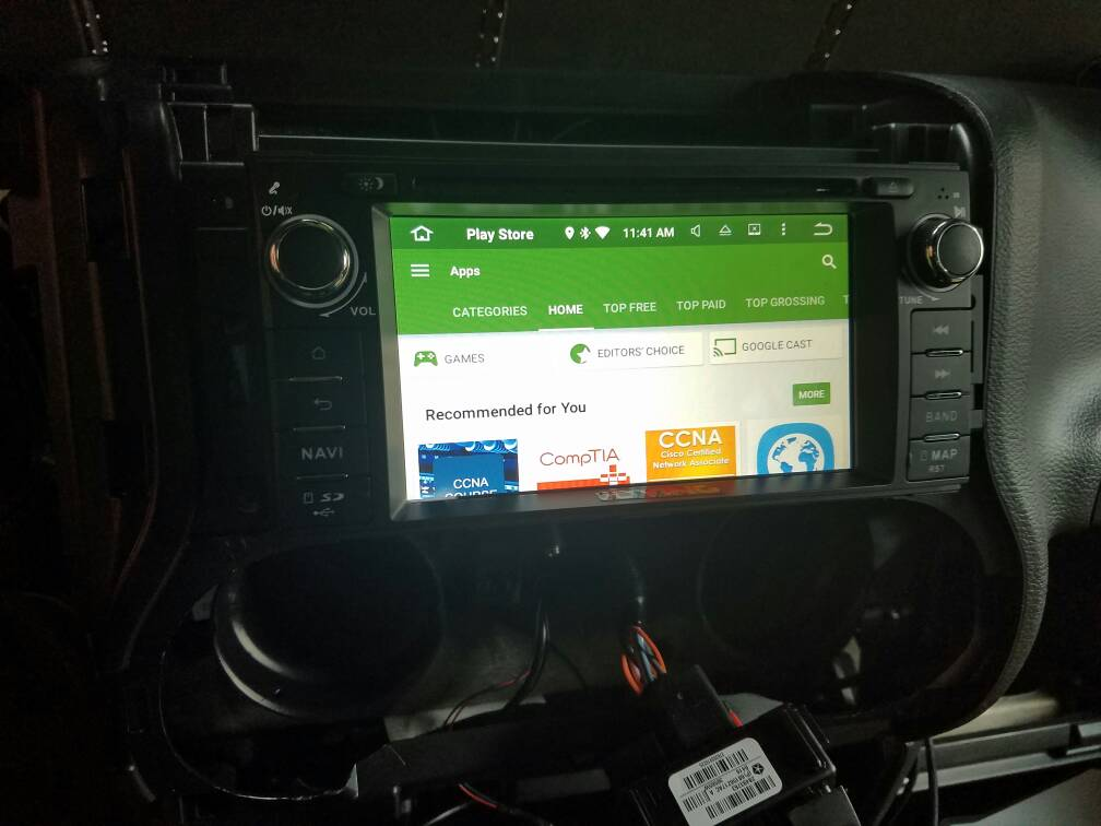 Just ordered an Android head unit - Joying Jeep specific - JeepForum com