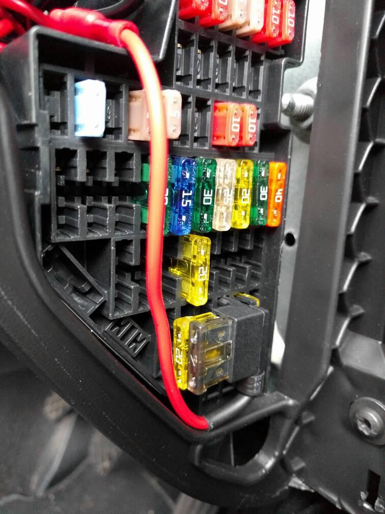 Where Is The Fuse Box Seat Leon : Dashcam hardwire seat cupra forum