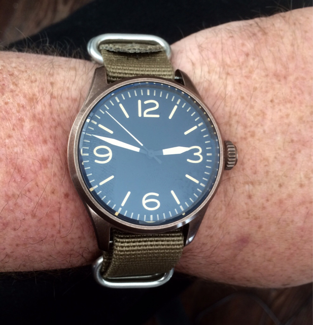 Review of the geckota k1 v29 pilot watch page 2 for Geckota watches