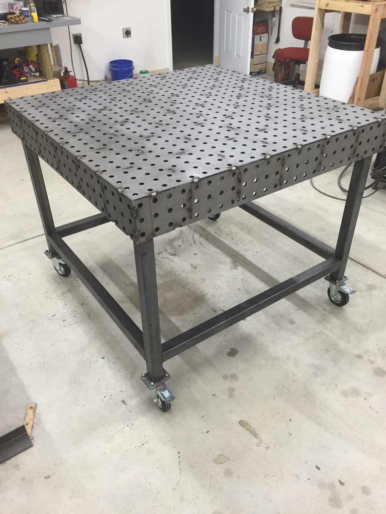Certiflat Welding Table From Expierences