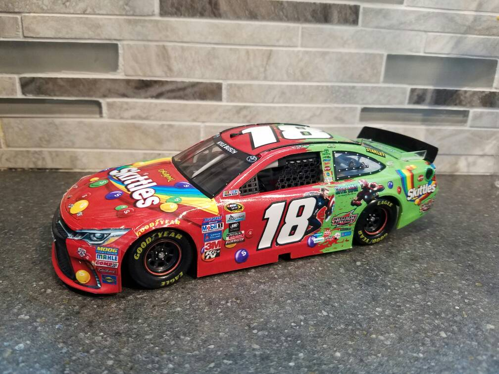 Kyle busch skittles captain america diecast crazy discussion forums for true collectors - Pictures of kyle busch s car ...