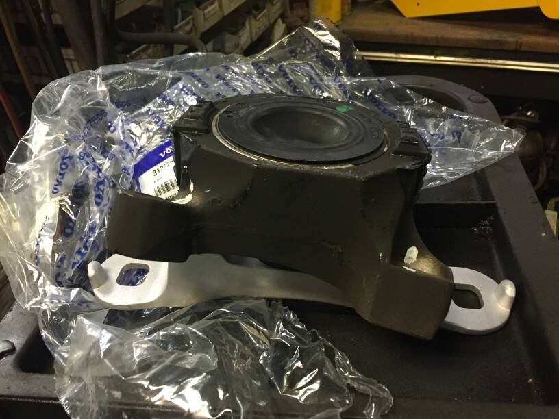 I Ordered A New Coolant Expansion Tank And Right Engine Mount And Replaced Them Both