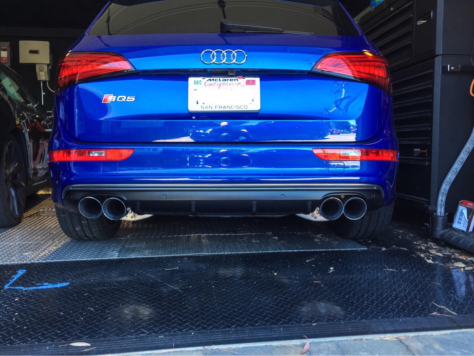 What did you do to your q sq5 today page 23 for Garage ad valence