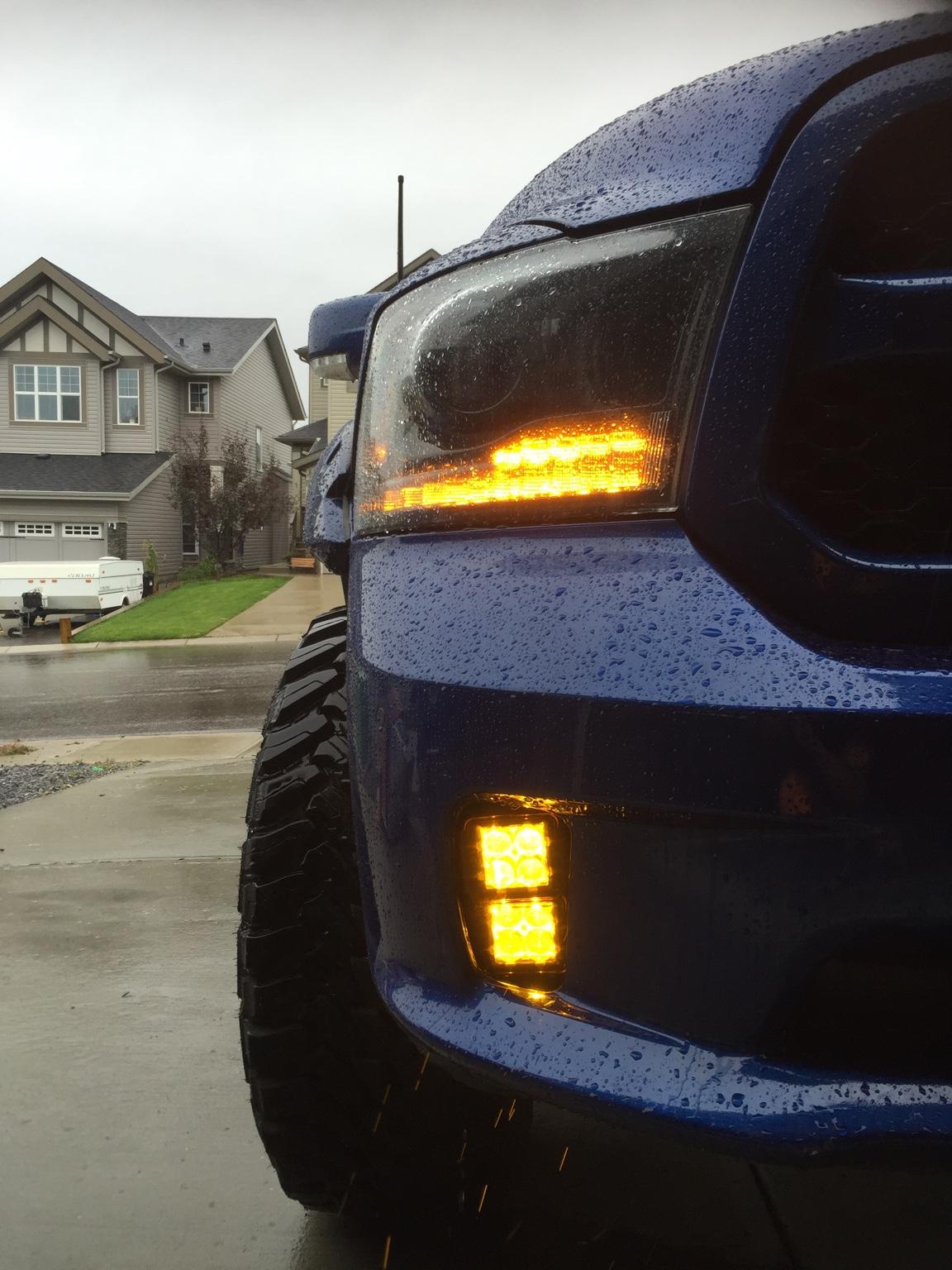 2014 Ram 1500 Fog Light Led Pods Dodge Ram Forum