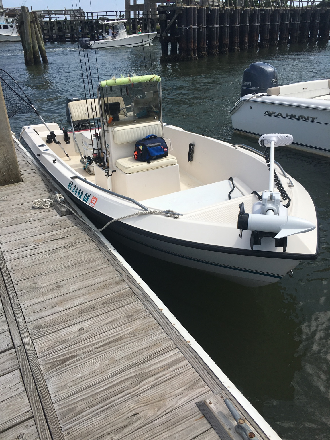Seapro 170cc 85hp suzuki for Fishing equipment for sale on craigslist