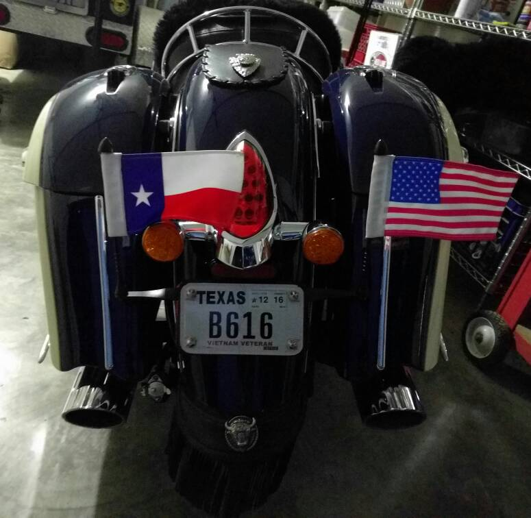 Flag Mount For Stock Springfield Indian Motorcycle Forum