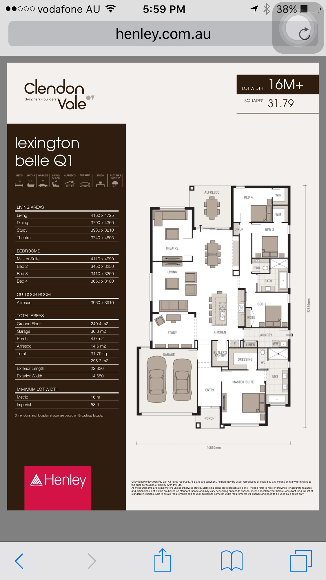 View topic - Our First Home - Lexington Belle Q1 by Henley in ...