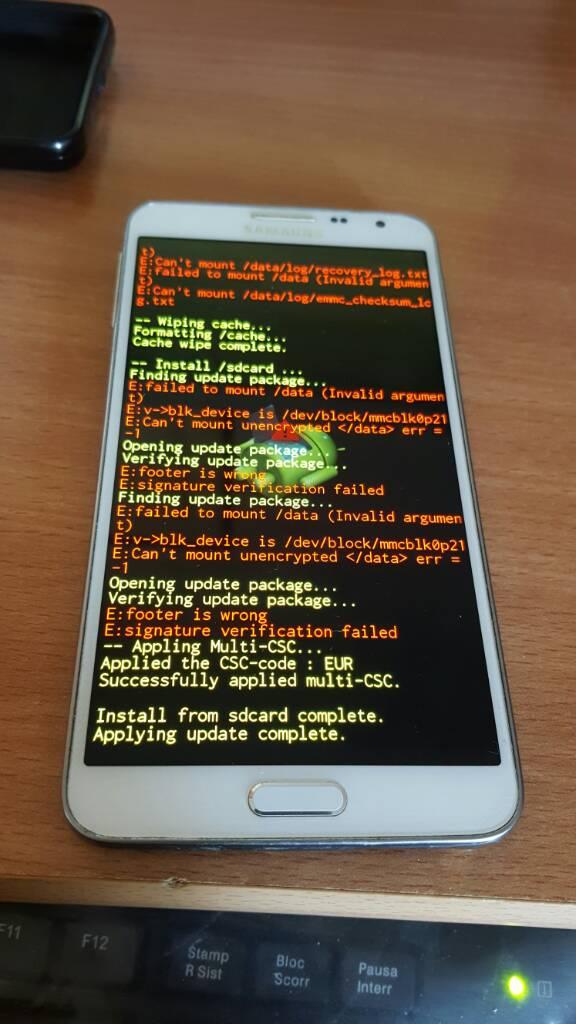 Thread di Supporto Modding Galaxy Note3 NEO - Modding Samsung Galaxy
