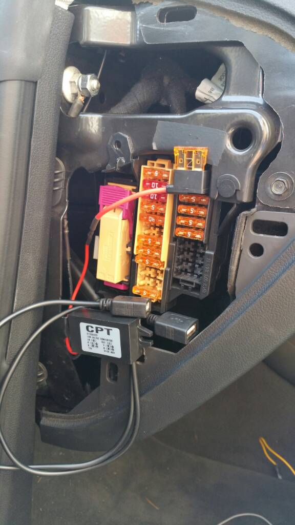 Quick & easy way to add usb power - Audi A5 Forum & Audi S5 Forum