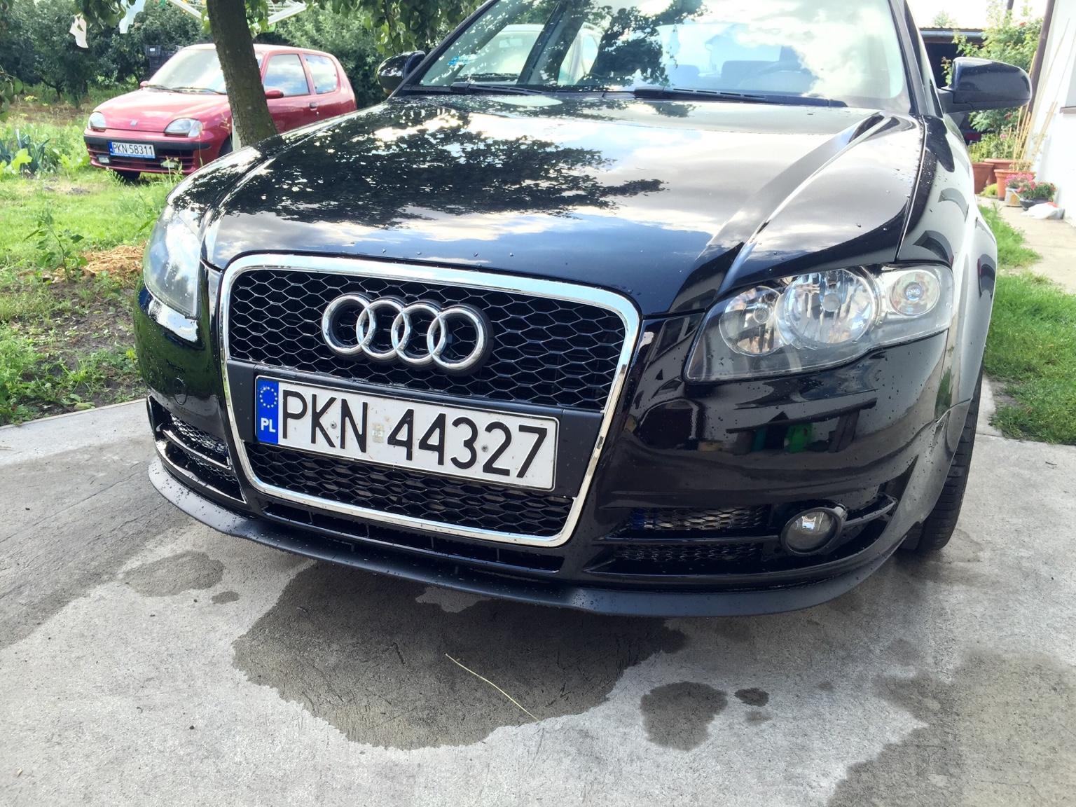 Plaster Miodu Ori Zderzak A4 B7 Audi A4 Klub Polska