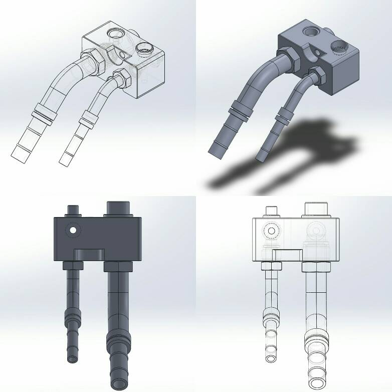 VWVortex com - Shaved, Tucked, Customized Engine Bays - Pics, Theory