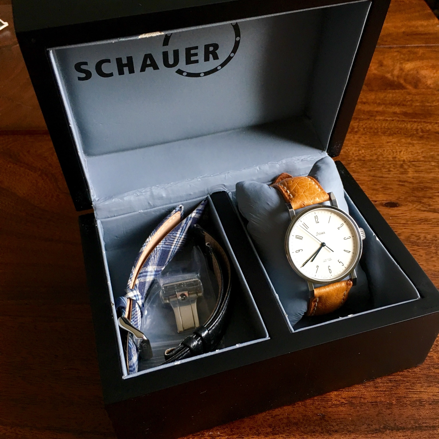 image this schauer click bar eta view sold of to the watches original blue kleine