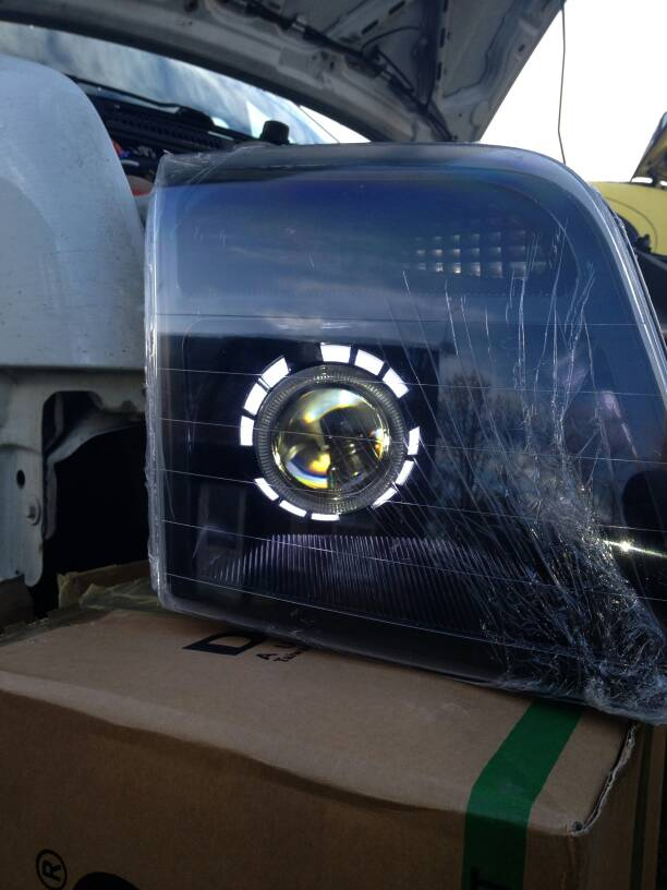 Used Ford Transit Connect >> Ford Transit Forum • View topic - For sale transit connect projector headlights