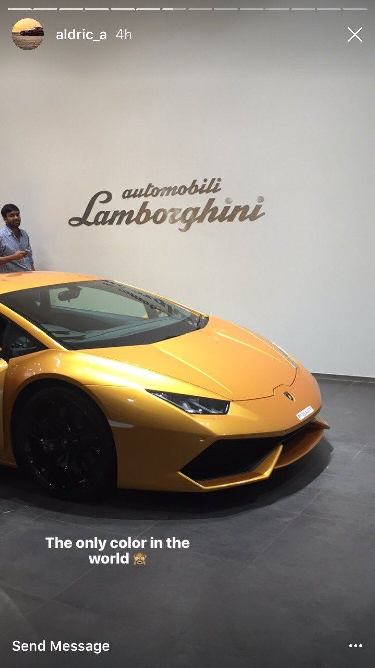 proud owner of a 2015 bianco icarus metallic huracan from mumbai india page 3. Black Bedroom Furniture Sets. Home Design Ideas