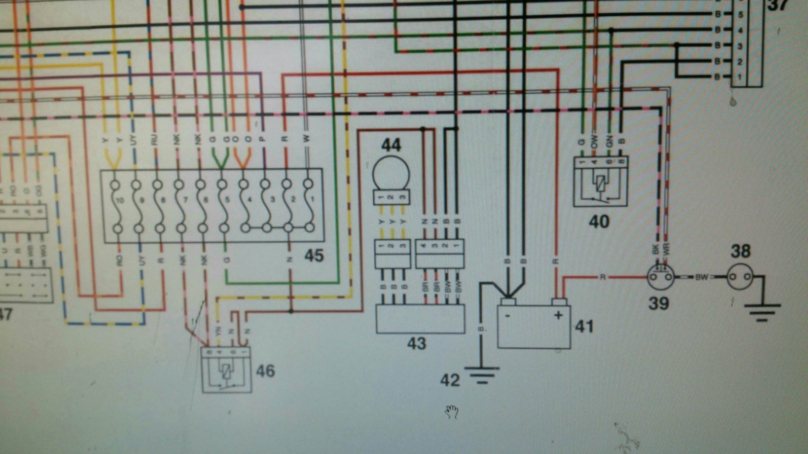 d524200c966ae5e970b5dc1c23fcc303 2001 triumph tt600 wiring diagram triumph forum triumph rat triumph sprint st 1050 wiring diagram at gsmportal.co