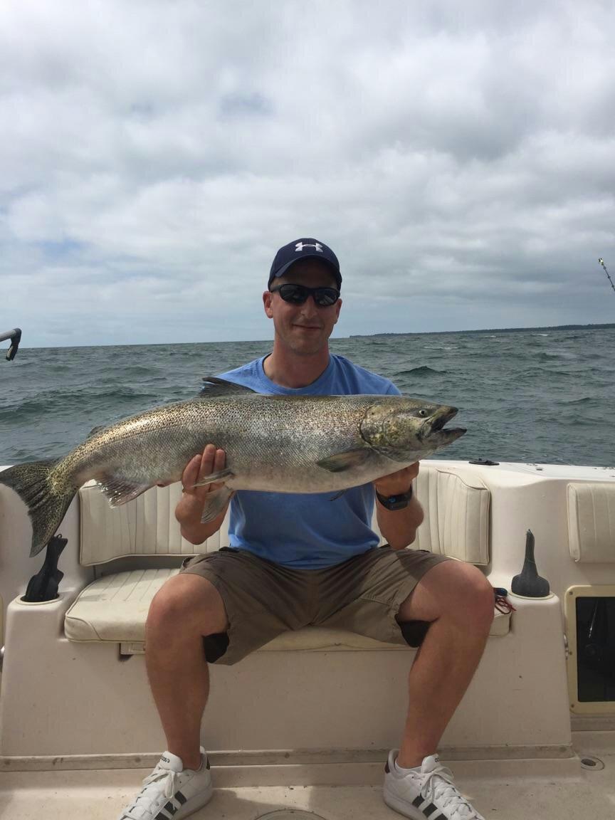 Skippys new york fishing reports lake ontario south for South shore fishing report