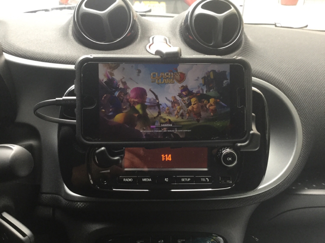 Removal of useless phone cradle  - Smart Car Forums
