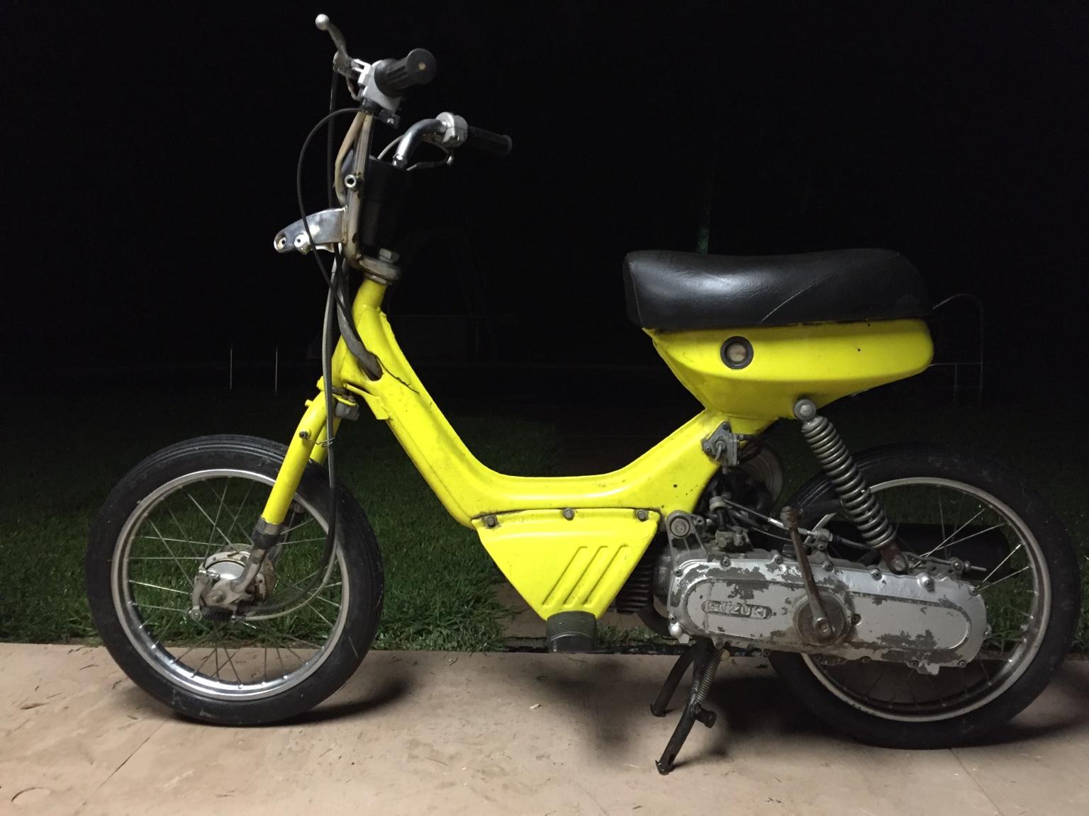 Suzuki FA50 Moped -