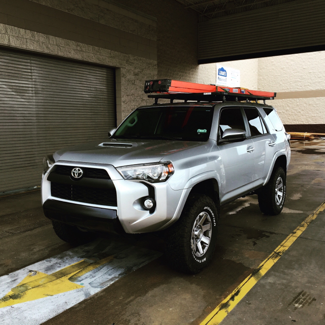 Eezi Awn 2 2 Meter Roof Rack Install Detailed With Lots