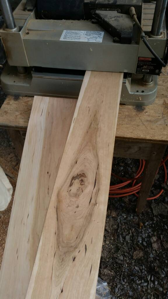 Thread: Cherry cabinet project