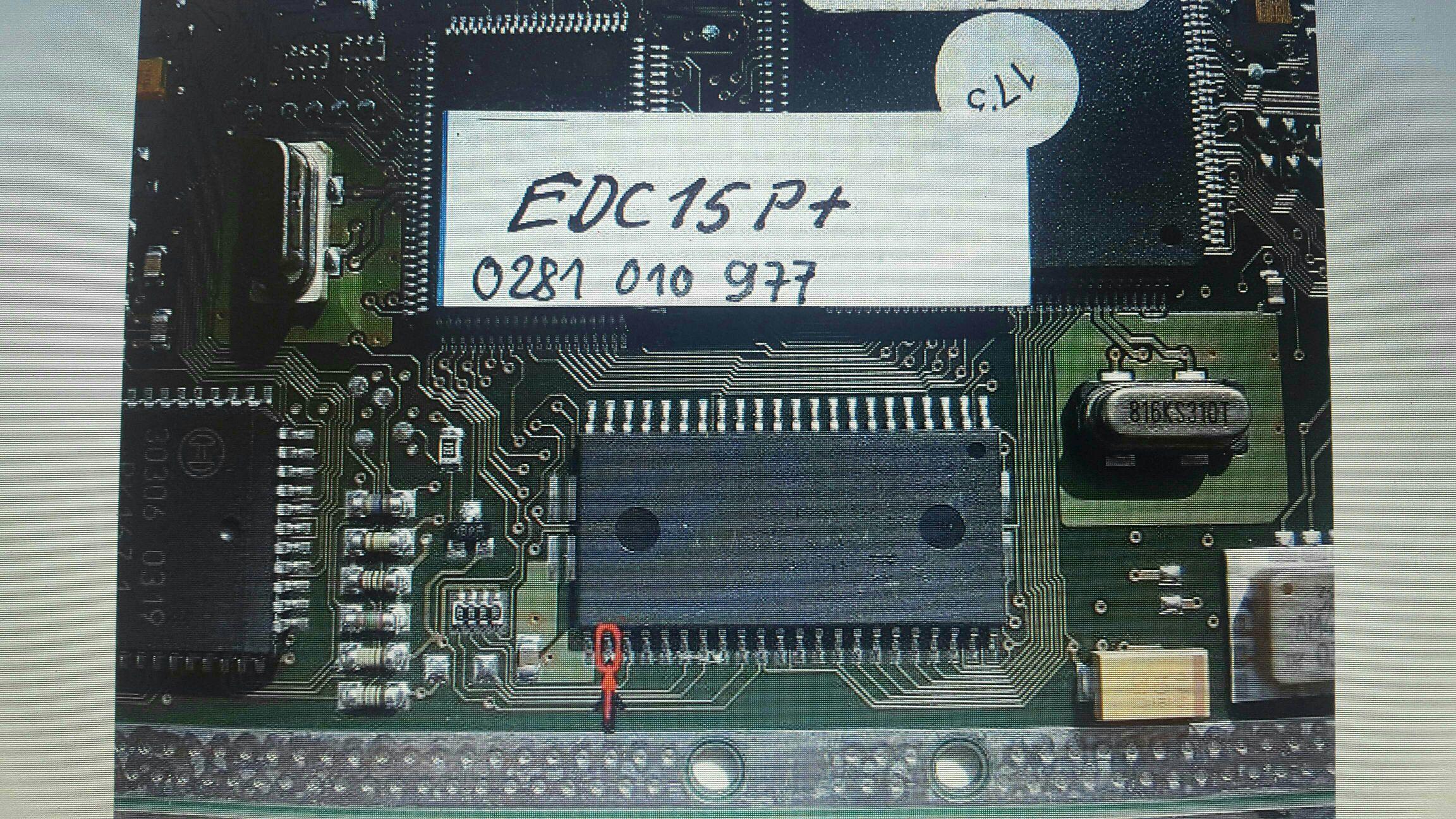 EDC15p+ VW Passat pinout problem