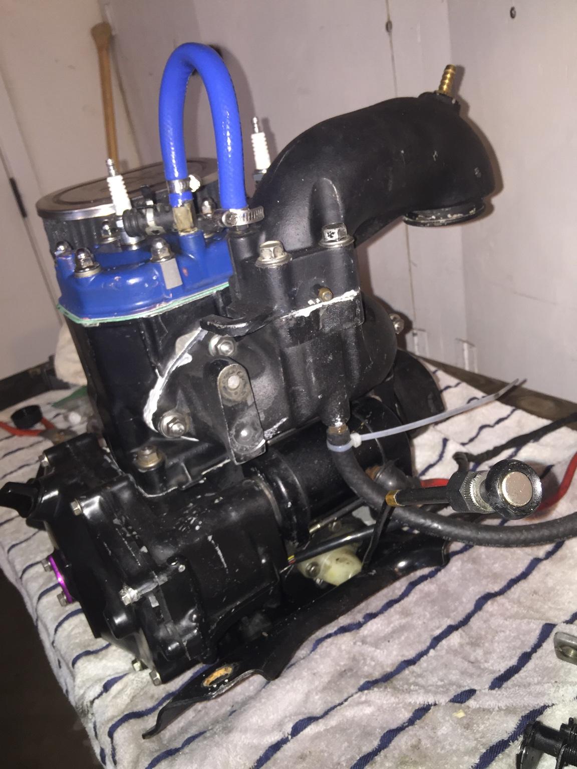 Kawasaki 650 Sx Engine
