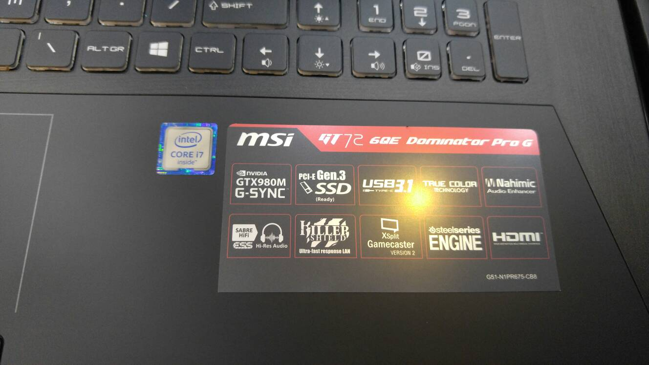 WTS] Gaming Notebooks Msi Alienware & Lenovo [Archive] - Pakistan's