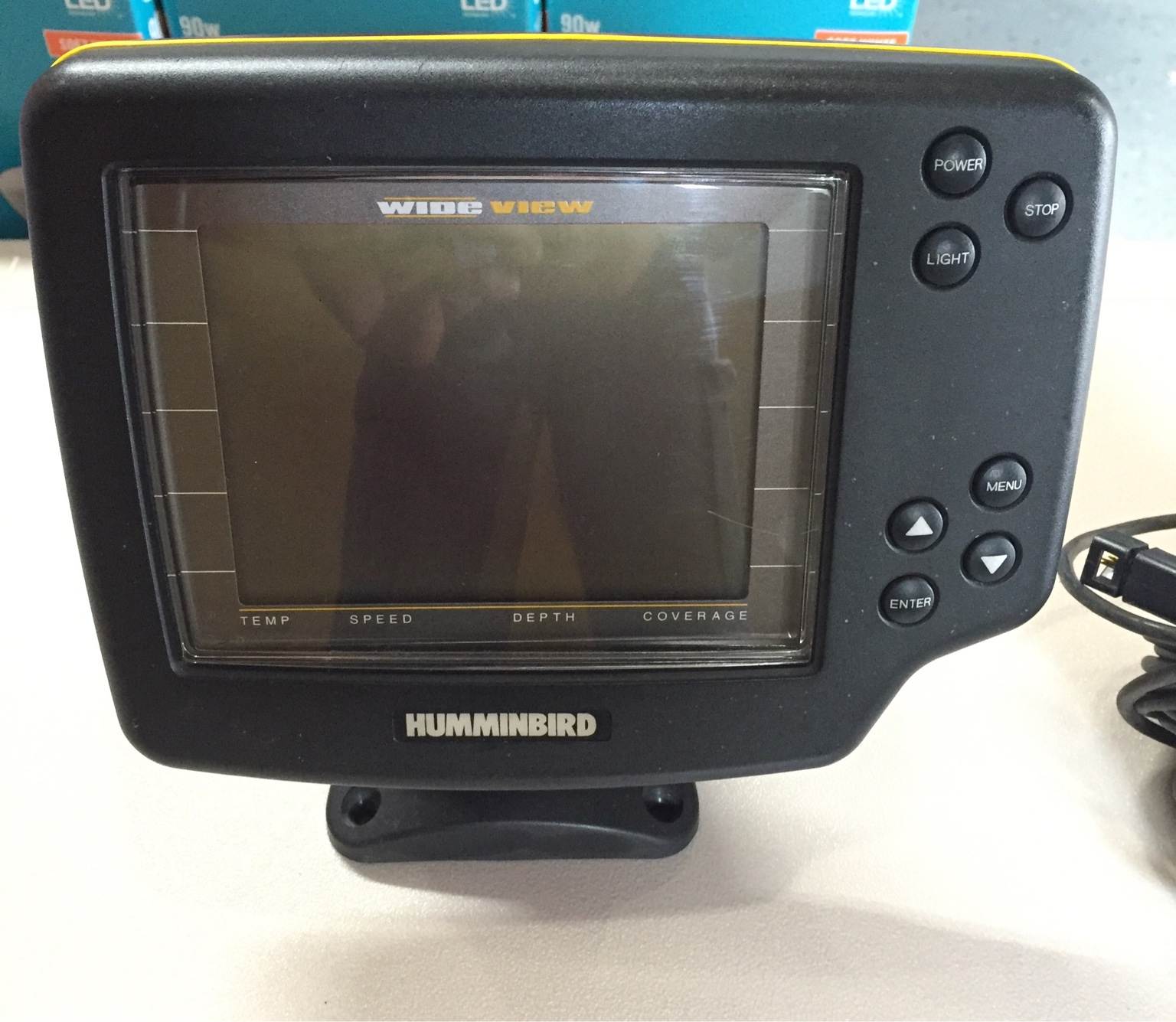 humminbird wide view - tapatalk, Fish Finder